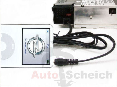 aux in adapter kabel f r opel cd30 mp3 iphone interface. Black Bedroom Furniture Sets. Home Design Ideas