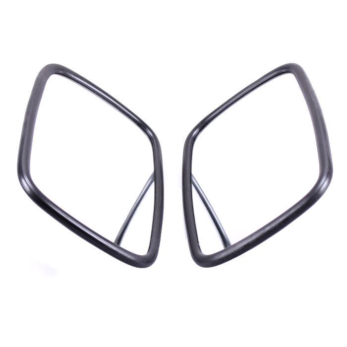 2 Universal Rückspiegel M6 Gewinde Seitenspiegel Außenspiegel Traktor Bagger LKW