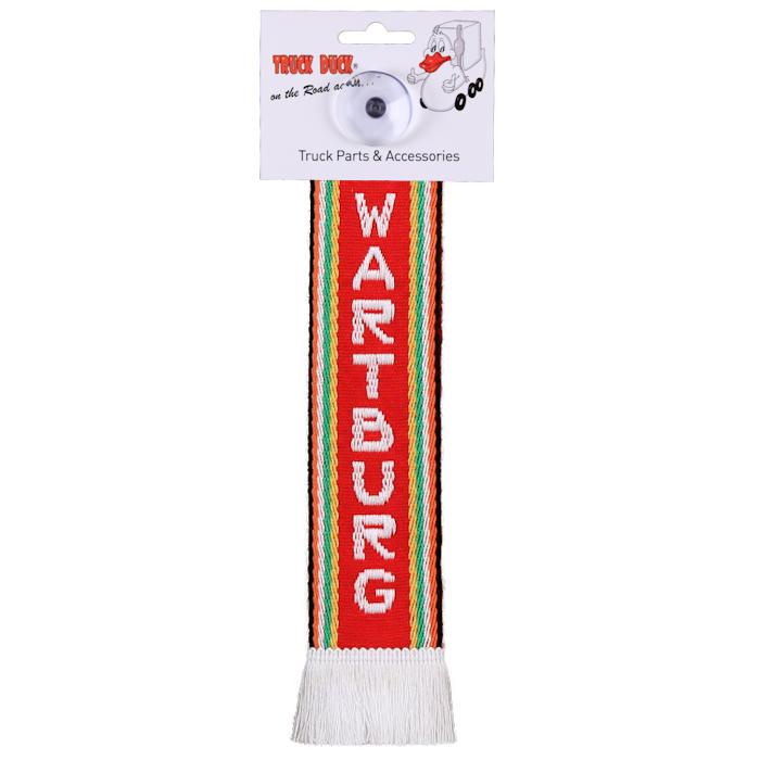 NEU Minischal DEUTSCHLAND Mini Schal mit Saugnapf Deko für den Spiegel KFZ